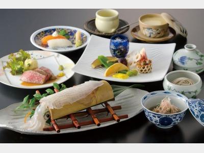 夕食/烏賊・佐賀牛会席イメージ