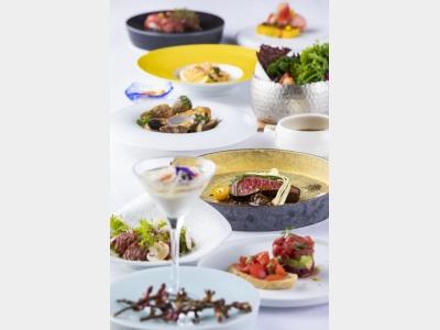 夕食一例/創作洋食フルコース