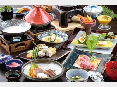 夕食/長崎県産牛を使用した会席イメージ