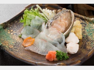 夕食/鯛・鮑しゃぶイメージ