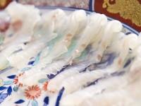 平戸自慢の食材「ヒラメ」