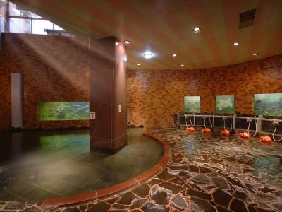 水族館大浴場「龍宮」