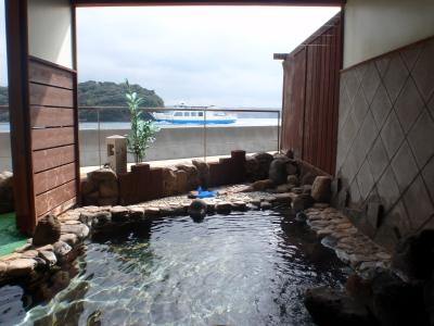 個室貸切展望風呂(一例)