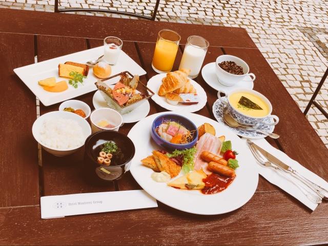 朝食セットメニュー 一例