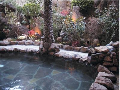 露天風呂「花の癒」