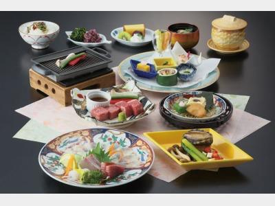 夕食一例/会席料理「桜」