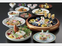 夕食一例/卓袱料理「白鷺」(3名盛)