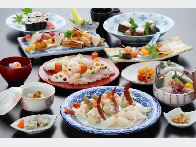 レストラン「天空」鮨会席 料理イメージ