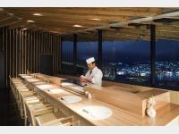 レストラン「天空」鮨会席 カウンターイメージ