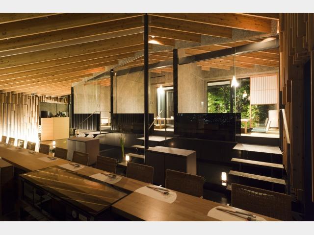 レストラン「天空」鮨会席 座敷席イメージ