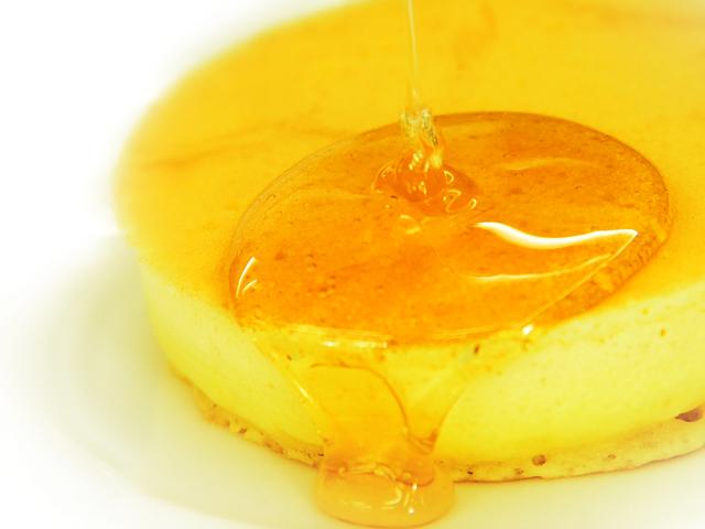 【朝食】女性に人気の出来立てふっくらパンケーキをどうぞ