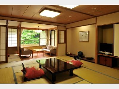 客室一例 数奇屋丸和室