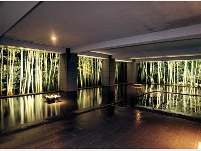 大浴場(竹林の湯)