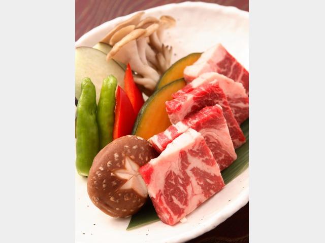肥後牛特盛り(夕食ランクアップ用)