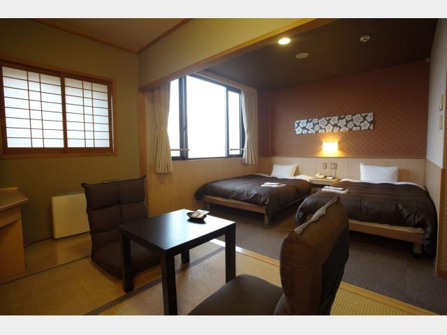 客室一例(昇龍館和洋室)