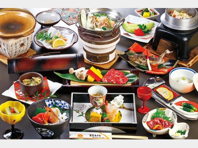 夕食/味覚UP 肥後の郷土料理会席コースイメージ