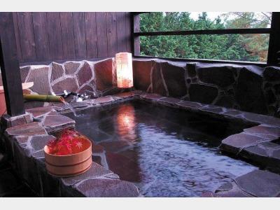 本館客室露天風呂 / 一例