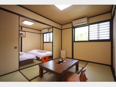 客室一例~心も身体もあたたまり、日常の疲れを忘れさせてくれる癒しの空間です~