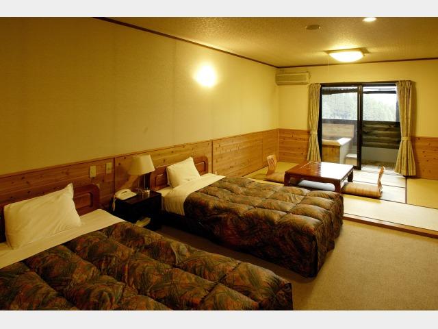 客室一例(露天風呂付和洋室)