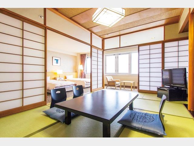 HANA館 客室一例