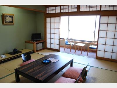 客室一例(大地館和室)