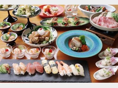 結庵(ゆあん)夕食|和食&琉球料理バイキング