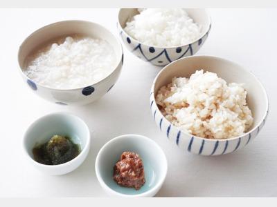 朝食|EM農法米を使用した炊きたてご飯