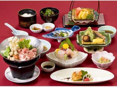 和・味処「かたばみ」食事一例