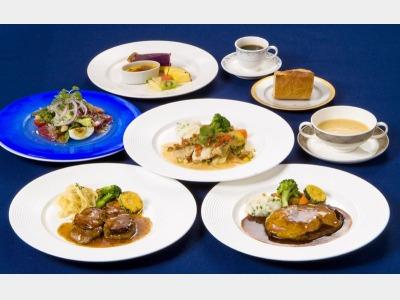 西洋四季料理「サフラン」食事一例