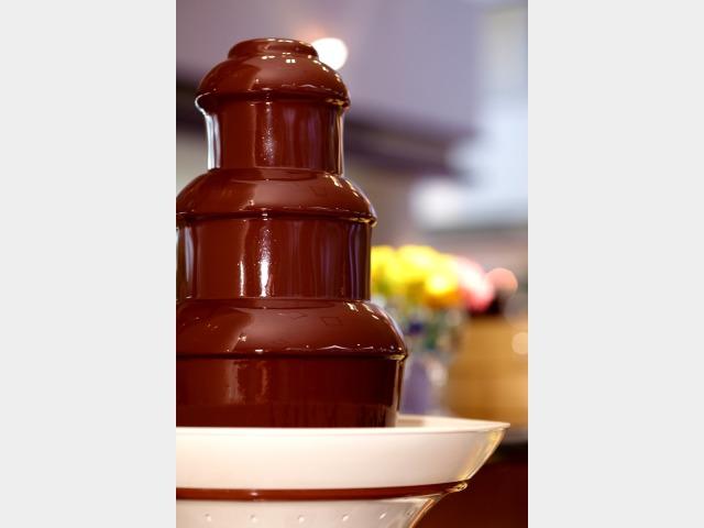 ランチバイキングイメージ チョコレートフォンデュ