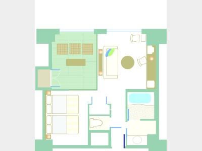 ファミリースタンダード|平面図