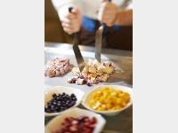 朝食 フローズンヨーグルト(スリユン イメージ)