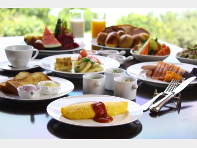 ブラッスリー「ベルデマール」朝食イメージ