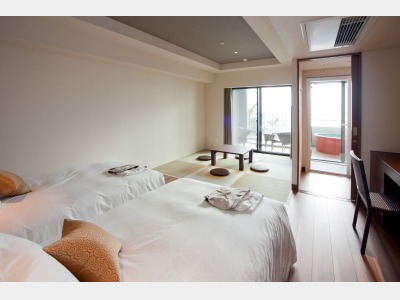 客室露天風呂付 和洋室/客室一例