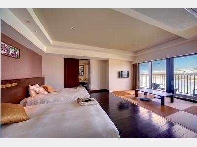 客室一例 瀬長デラックス和洋室露天風呂付