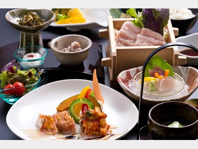 夕食イメージ 和琉創作コース