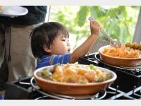 食事イメージ キッズバイキング台