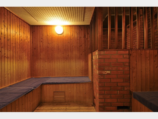 大浴場(有料施設)男性用ドライサウナ