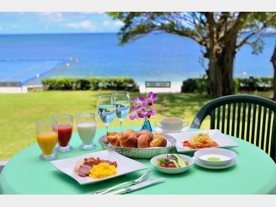 シーサイドレストラン谷茶ベイ/朝食一例