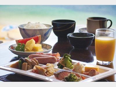 日本料理・琉球料理 七福/朝食一例
