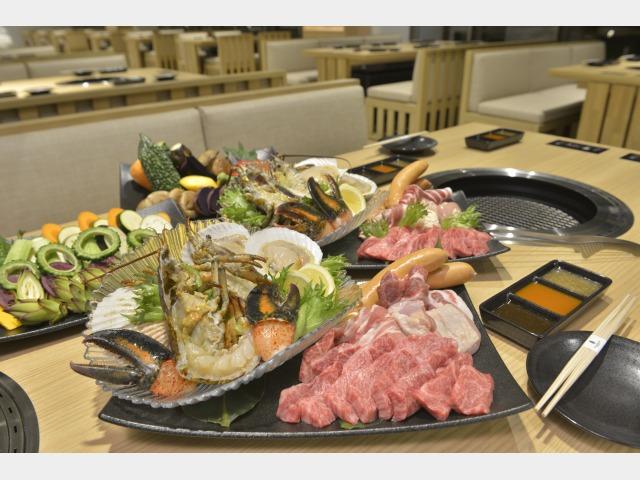 バーベキューレストラン「カペラ」食事イメージ