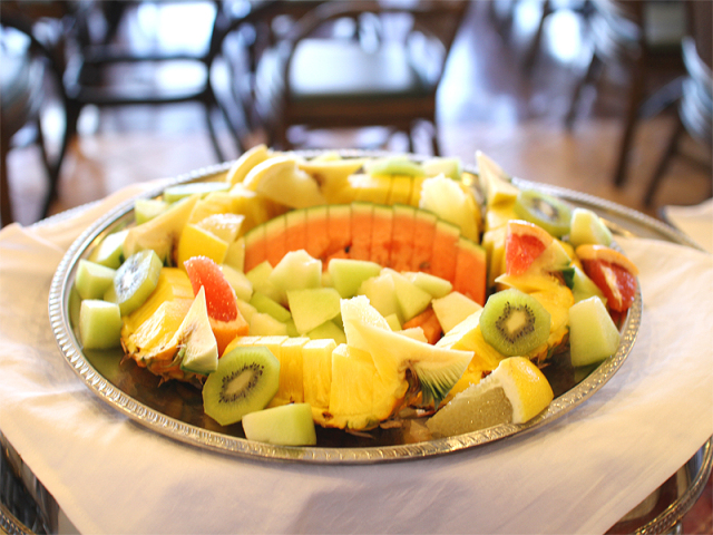 【朝食イメージ】季節のフルーツもご用意