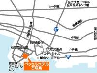 ベッセルホテル石垣島所在地地図