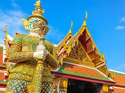 【新千歳発】タイ国際航空利用!バンコク 5・6日【秋~春本番!先どり!】