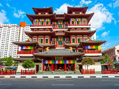 【関空発】シンガポール航空午前便で行くシンガポール4・5日【観光付き】