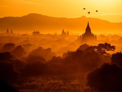 【関空発】ベトナム航空で行く絶景バガン遺跡とバゴー・ヤンゴン5・6日【絶景】