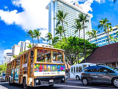 【関空発】ハワイアン航空直行便で行く!ハワイ4・5・6・7日 往復送迎付【売りつくし】