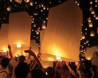 【関空発】タイ国際航空で行くロイクラトン祭りとチェンマイ/チェンマイ・バンコク【祭り】