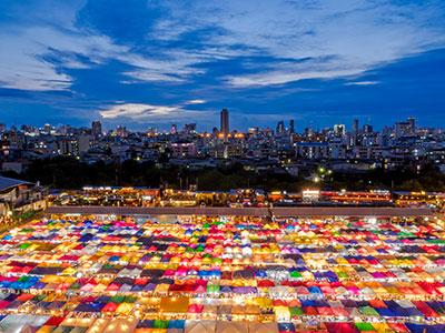 【関空発】タイ国際航空直行便利用バンコク4・5日【年末年始を先どり!】