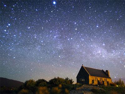 【関空発】テカポ湖に泊まる星空に癒される休日8日【絶景】
